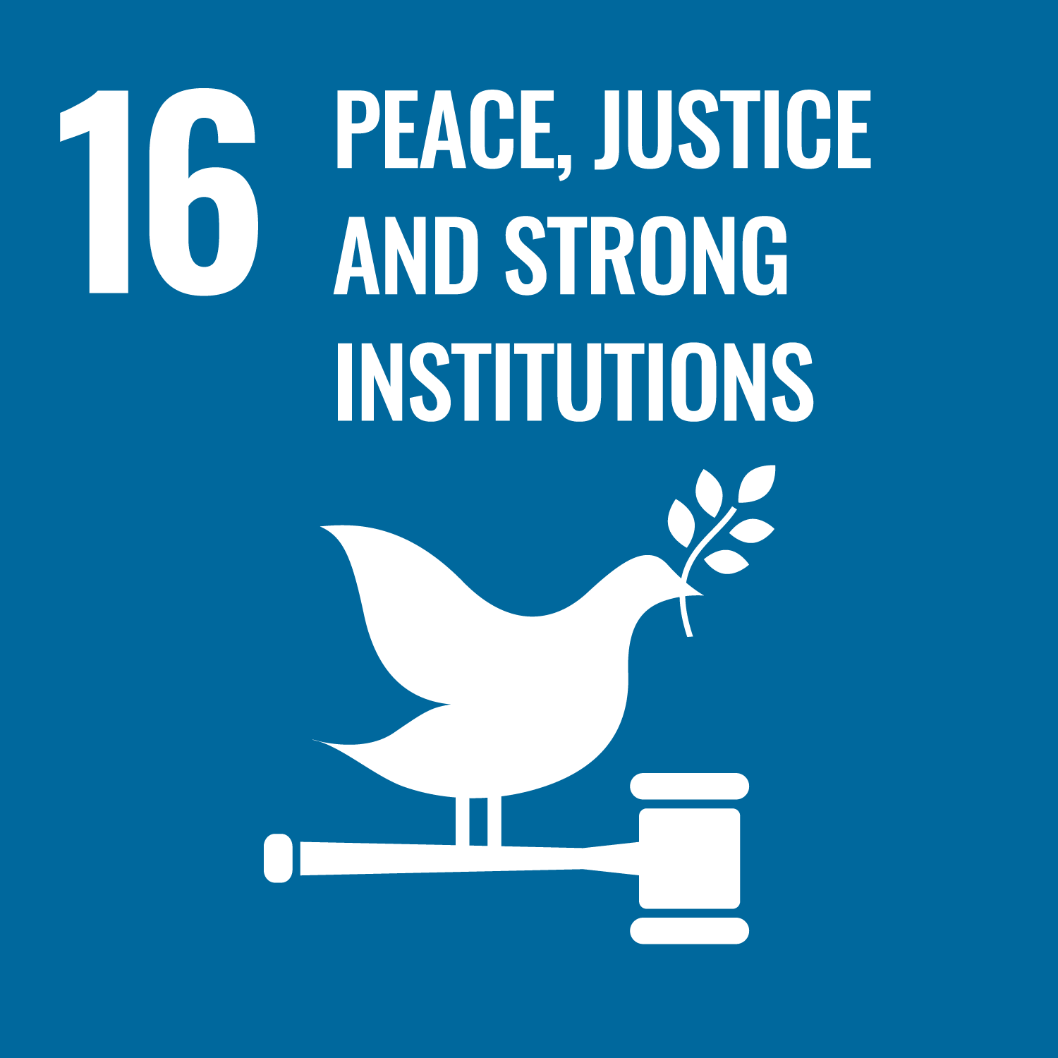 Goal 16: Peace, Justice, & Strong Institutions