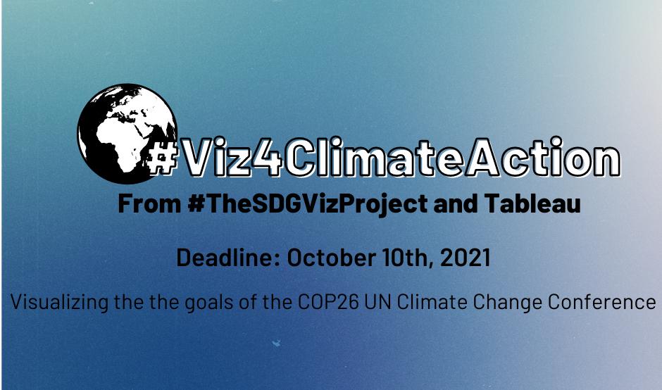 #Viz4ClimateAction